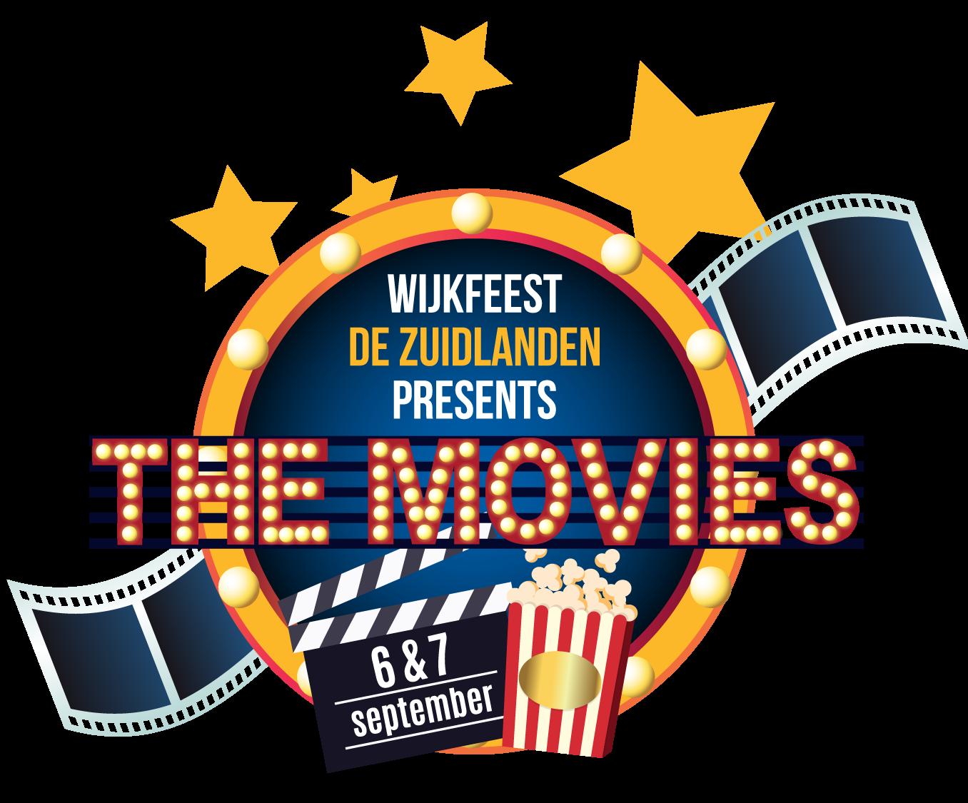 WIjkfeest de Zuidlande Beeldmerk 2019 The Movies